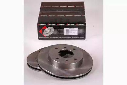 Вентилируемый тормозной диск на NISSAN BLUEBIRD 'PROTECHNIC PRD2223'.