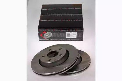 Вентилируемый тормозной диск на Ауди Кватро 'PROTECHNIC PRD2229'.