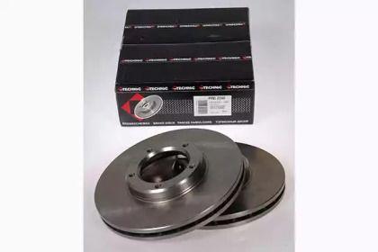 Вентилируемый тормозной диск на TOYOTA HIACE 'PROTECHNIC PRD2240'.