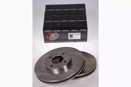 Вентилируемый тормозной диск на NISSAN 100NX 'PROTECHNIC PRD2242'.