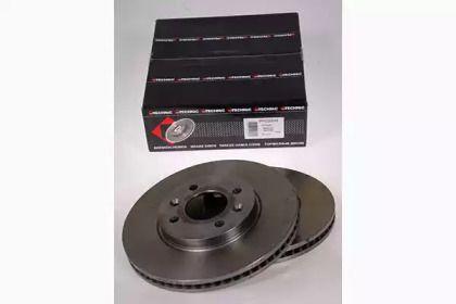 Вентилируемый тормозной диск на SAAB 9000 'PROTECHNIC PRD2248'.