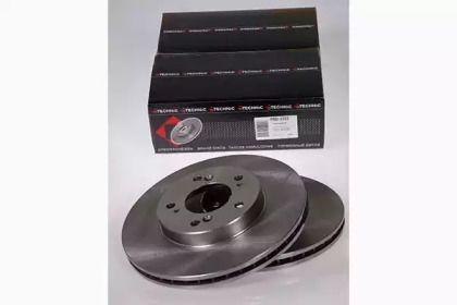 Вентилируемый тормозной диск на Хонда НРВ 'PROTECHNIC PRD2322'.