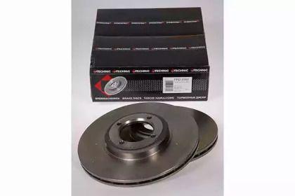 Вентилируемый тормозной диск на Пежо 504 'PROTECHNIC PRD2382'.