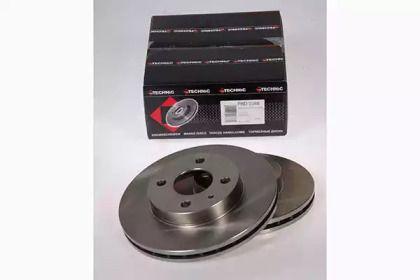 Вентилируемый тормозной диск на ALFA ROMEO 33 'PROTECHNIC PRD2388'.