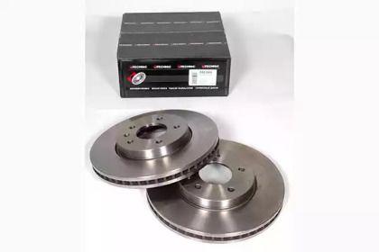 Вентилируемый тормозной диск на CHEVROLET CAPTIVA 'PROTECHNIC PRD2499'.
