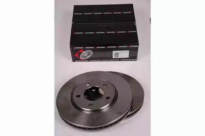 Вентилируемый тормозной диск на Додж Караван 'PROTECHNIC PRD2522'.