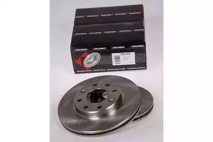 Вентилируемый тормозной диск на Шевроле Спарк 'PROTECHNIC PRD2533'.