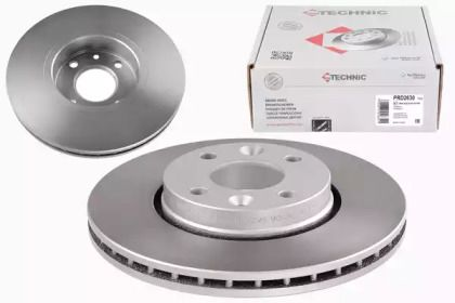Вентилируемый тормозной диск на Ниссан Тиида 'PROTECHNIC PRD2630'.