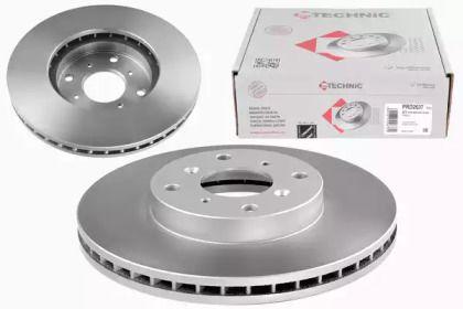Вентильований передній гальмівний диск 'PROTECHNIC PRD2637'.