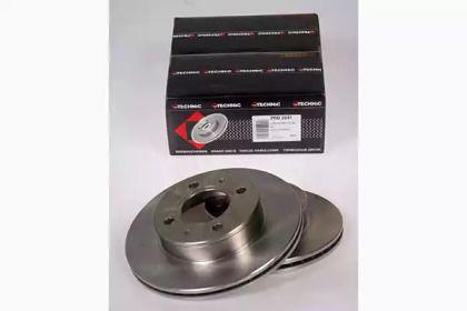 Вентилируемый тормозной диск на Хендай Атос 'PROTECHNIC PRD2641'.