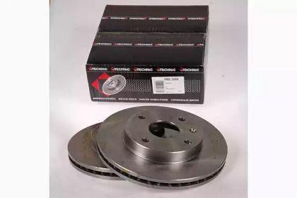Вентилируемый тормозной диск на CHEVROLET EPICA 'PROTECHNIC PRD2666'.