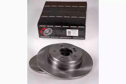 Тормозной диск на MERCEDES-BENZ SLK 'PROTECHNIC PRD5189'.