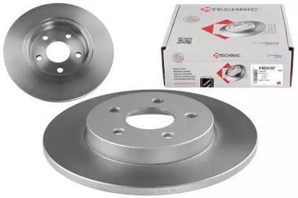 Тормозной диск на Ягуар Х-Тайп 'PROTECHNIC PRD5197'.