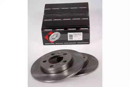 Тормозной диск на Ауди ТТ 'PROTECHNIC PRD5212'.