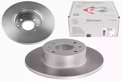 Тормозной диск на FIAT MULTIPLA 'PROTECHNIC PRD5227'.