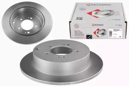 Тормозной диск на Пежо 4007 'PROTECHNIC PRD5283'.