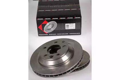 Вентилируемый тормозной диск на Порше Кайен 'PROTECHNIC PRD6171'.