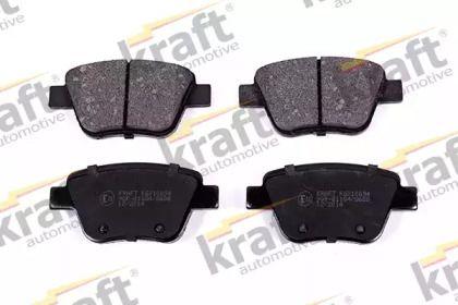 Задние тормозные колодки 'KRAFT AUTOMOTIVE 6010094'.