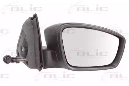 Праве бокове дзеркало на SKODA RAPID 'BLIC 5402-10-2002320P'.