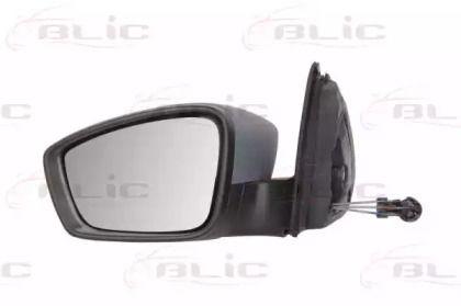Ліве бокове дзеркало на Шкода Рапід 'BLIC 5402-10-2002321P'.