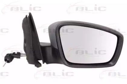Праве бокове дзеркало на Шкода Рапід 'BLIC 5402-10-2002322P'.