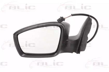 Ліве бокове дзеркало на SKODA RAPID 'BLIC 5402-10-2002323P'.