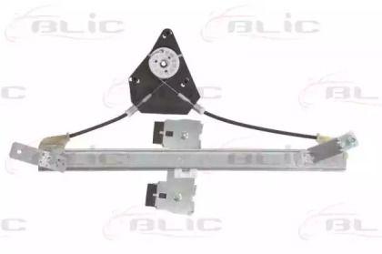 Задний левый стеклоподъемник на SEAT LEON 'BLIC 6060-10-015857'.