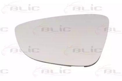 Левое стекло зеркала заднего вида на VOLKSWAGEN JETTA 'BLIC 6102-01-2002583P'.