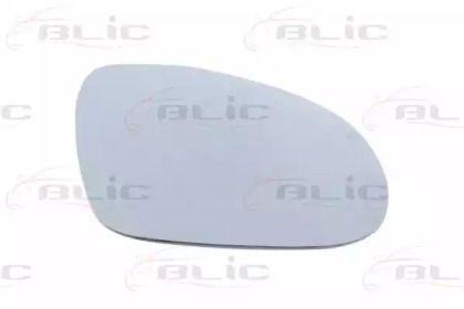 Правое стекло зеркала заднего вида на Фольксваген Пассат 'BLIC 6102-02-1232128P'.