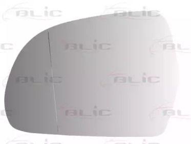 Левое стекло зеркала заднего вида на Шкода Октавия А5 'BLIC 6102-02-1232593P'.