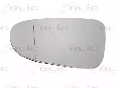 Левое стекло зеркала заднего вида на Фольксваген Гольф 'BLIC 6102-02-1232596P'.