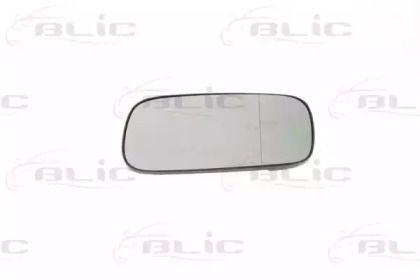 Левое стекло зеркала заднего вида на Фольксваген Пассат 'BLIC 6102-02-1271152P'.
