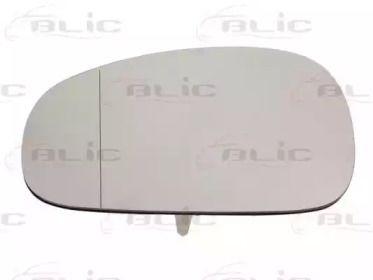 Левое стекло зеркала заднего вида на SEAT LEON 'BLIC 6102-02-1271995P'.