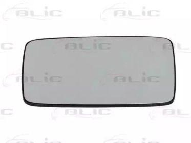 Левое стекло зеркала заднего вида на VOLKSWAGEN GOLF 'BLIC 6102-02-1291125P'.