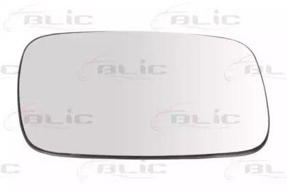 Правое стекло зеркала заднего вида на Фольксваген Пассат 'BLIC 6102-02-1292152P'.