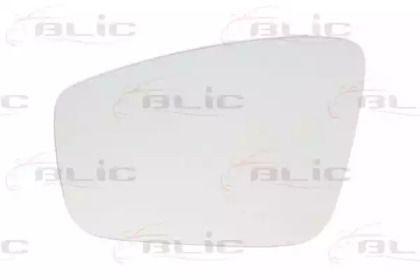 Ліве скло дзеркала заднього виду на Шкода Рапід 'BLIC 6102-10-2002329P'.