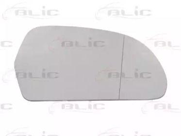 Правое стекло зеркала заднего вида на Шкода Октавия А5 BLIC 6102-43-006370P.