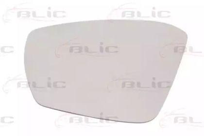 Ліве скло дзеркала заднього виду на SKODA OCTAVIA A7 'BLIC 6102-43-2002359P'.