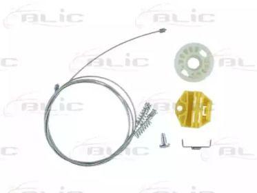 Ремкомплект склопідіймача на Мерседес W210 BLIC 6205-02-019805P.