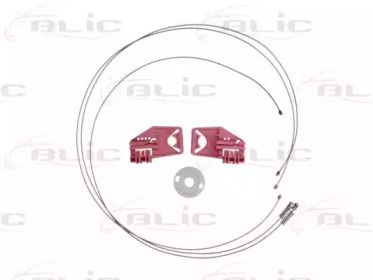Ремкомплект стеклоподъемника на Шкода Октавия А5 'BLIC 6205-43-006802P'.