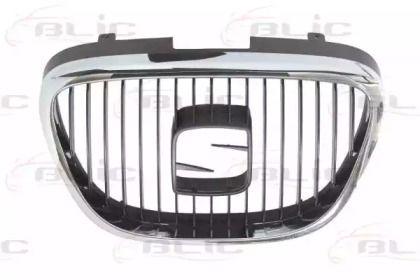 Решетка радиатора на SEAT ALTEA BLIC 6502-07-6612990Q.