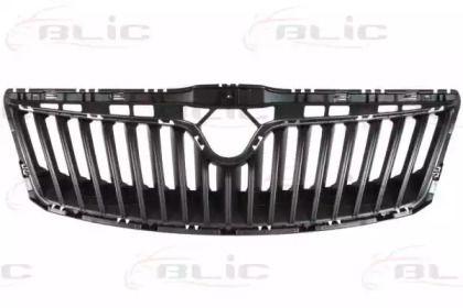 Решетка радиатора на Шкода Октавия А5 'BLIC 6502-07-7521995Q'.