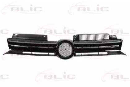 Решетка радиатора на Фольксваген Гольф 'BLIC 6502-07-9534992PQ'.