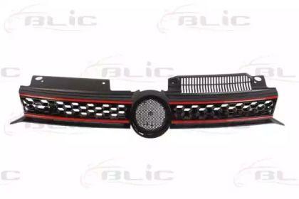 Решетка радиатора на Фольксваген Гольф 'BLIC 6502-07-9534999P'.