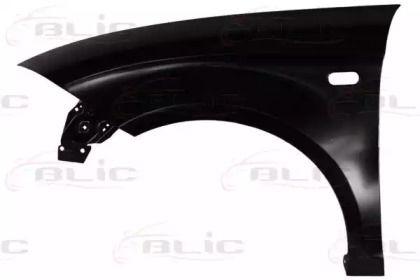 Переднее крыло левое на SEAT ALTEA BLIC 6504-04-6612311Q.