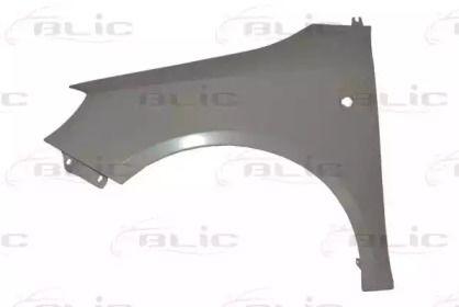 Переднє крило ліве 'BLIC 6504-04-7515311P'.