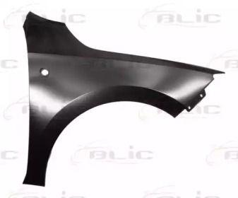Переднее крыло правое на SEAT TOLEDO 'BLIC 6504-04-7516312P'.
