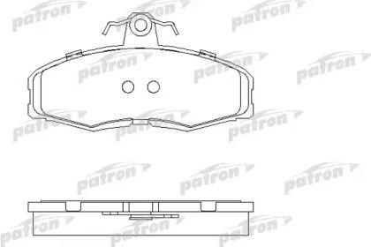 Тормозные колодки 'PATRON PBP275'.