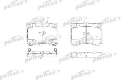 Тормозные колодки 'PATRON PBP714'.