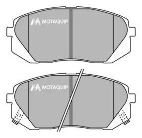 Тормозные колодки MOTAQUIP LVXL1452.